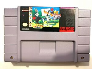 ACME Animation Factory Super Nintendo SNES Game Tested + Working & Authentic!