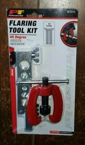 2pc Flaring Tool Kit! For Flaring Tubing Sizes 3/16, 1/4, 5/16, 3/8, 1/2 & 5/8