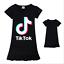 Kids-Girls-Tik-Tok-Nightdress-Short-Sleeve-Nightie-Skirt-Sleepwear-Nightwear-Top thumbnail 4