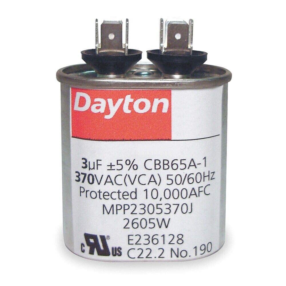 Lot 5 Dual Run Capacitor 7.5+30 30//7.5 MFD uf 370 440v AC Motor 440 vac v volts