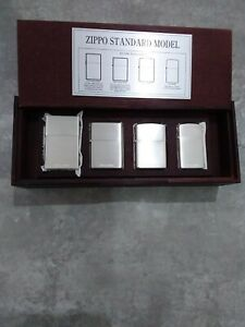 Zippo lighter Silver Plated Limited Édition n°170/1000 Coffret en bois (rare)