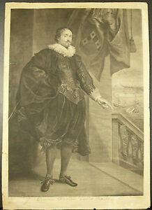 Portrait-Nicolaes-van-der-Borcht-Van-Dyck-Vermeulen-Bataille-navale-Battleship