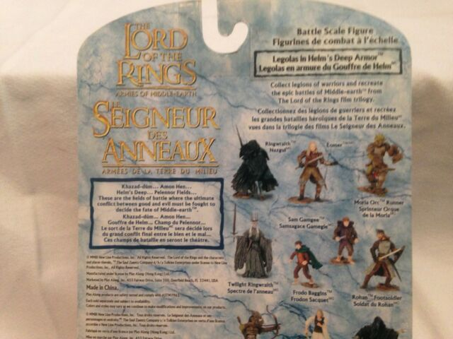 2003 le seigneur des anneaux lord of the Rings Fellowship of the Ring Gangalf le gris NEW IN BOX