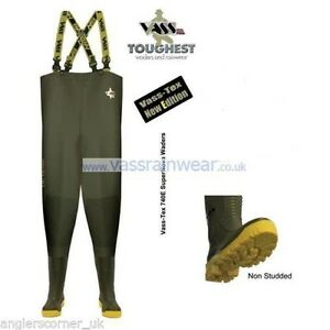 Vass-Tex Super Nova 740e Chest Waders / All Sizes [Non-Studded]