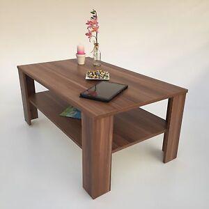 couchtisch bea nussbaum walnuss wohnzimmertisch wohnm bel made in germany ebay. Black Bedroom Furniture Sets. Home Design Ideas