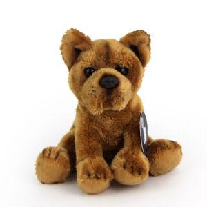 Stofftier-kl-Staffordshire-Terrier-Hund-Plueschtier-h-ca-13-cm-Bull-Terrier