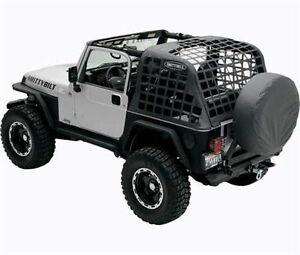 Smittybilt Cres System Cargo Net 07 2015 Jeep Wrangler Jk
