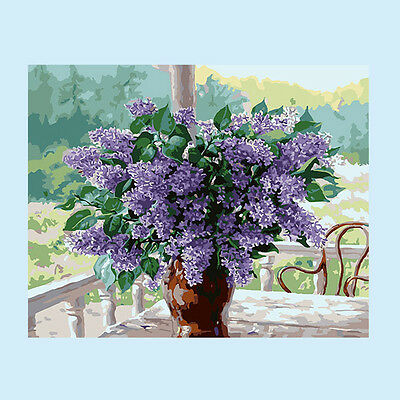 Lavender DIY Paint By Number Kit On Canvas Digital Oil Painting Home Decor