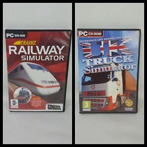 Trainz-Railway-Simulator-PC-DVD-ROM-und-UK-Truck-Simulator-PC-CD-ROM