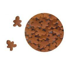 Edible Confetti Sprinkles Cookie Cake Cupcake Christmas GINGERBREAD 4 oz.