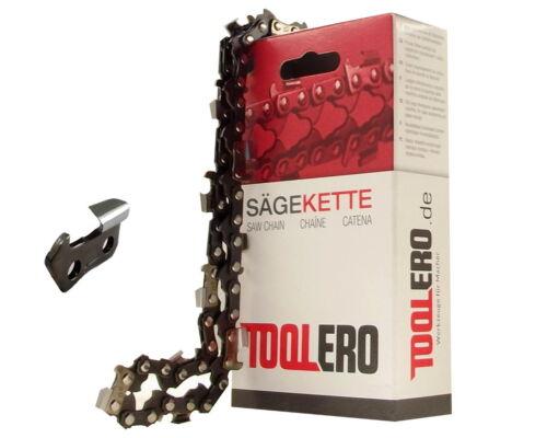 35cm Toolero Lopro HM Kette für Black/&Decker GK435 Motorsäge Sägekette 3//8P 1,3
