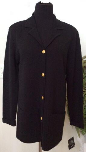 Ret Black Knit Wool Nwt Sz Claiborne Classics Blend Merino Liz 128 Jacket Wmn 788760216021 S wqxqZCXI7T