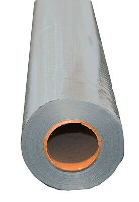 500 sqft Radiant Barrier Solar Attic Foil Reflective Insulation 2x250 Perforated