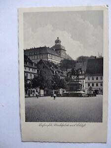Ansichtskarte Weißenfels Marktplatz mit Schloß 1937 (Nr.616) - Eggenstein-Leopoldshafen, Deutschland - Ansichtskarte Weißenfels Marktplatz mit Schloß 1937 (Nr.616) - Eggenstein-Leopoldshafen, Deutschland