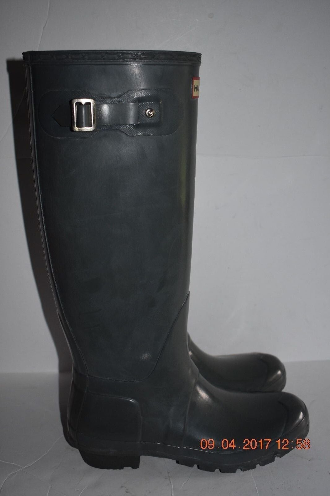Women's Hunter Original Tall Rain Boot W23616 Moss Green 8M 9F
