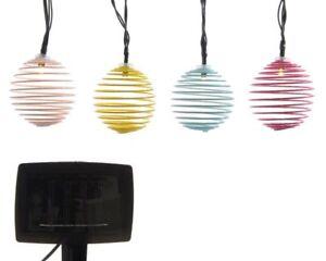 Image Is Loading Solar Ed Outdoor Garden String Wire Globe Lanterns