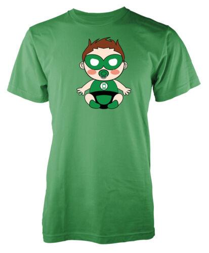 Baby Green Lantern Supereroe JUSTICE LEAGUE ispirato Bambini T-shirt
