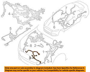 ford fusion seat belt wiring diagram ford oem 14 18 fusion 1 5l l4 wiring harness wire harness  ford oem 14 18 fusion 1 5l l4 wiring
