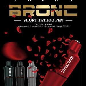 HUMMINGBIRD-BRONC-V9-CLICK-GRIP-tattoo-pen-short-machine-BLACK