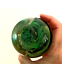 """thumbnail 7 - Glass Paperweight Isle of Wight England Green Bubble Swirl Impressed Seal 3.5"""""""