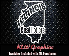 Illinois Coal Rollers* Vinyl decal Sticker Powerstroke Truck Diesel funny 2500