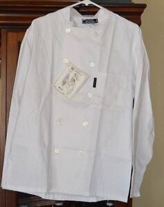 975321fba New In Package Chef Works Chef Jacket White Uniform WCCW Size Small ...