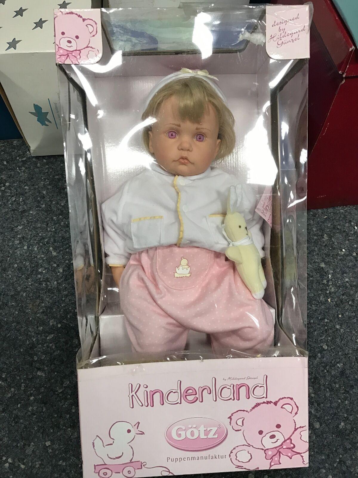 Heng aime Noël, la chaleur du coeur Götz Hildegard COMPLICES poupée poupée vinyle poupée COMPLICES 52 cm excellent état c1273b