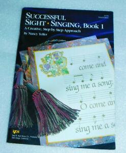 Successful Sight Singing Book 1 Nancy Telfer Vocal Edition V77S 1992 PB Choral