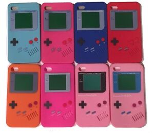 IPHONE 4 4S BACK COVER CASE RETRO CUSTODIA NINTENDO GAME BOY 4G SILICONE GAMEBOY