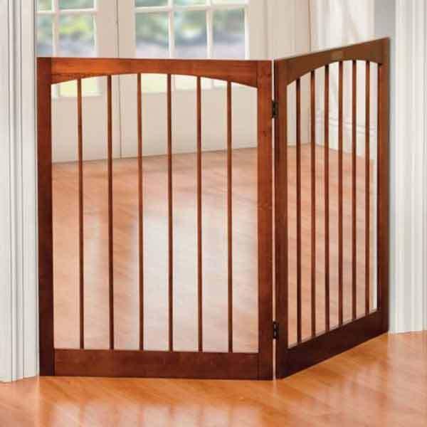 2 Panel Indoor Folding Pet Safety Gate Room Divider Baby Child 132
