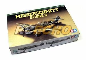 Tamiya-Aircraft-Model-1-72-Airplane-Messerschmitt-Bf109E-3-Scale-Hobby-60750