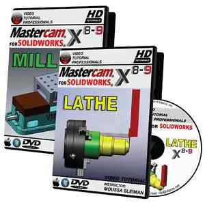 Details about MASTERCAM X8-X9 FOR SOLIDWORKS - MILL & LATHE Video Tutorial  Training Bundle