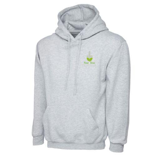 Personnalisé Brodé à capuche jardinier Workwear Uniforme Logo