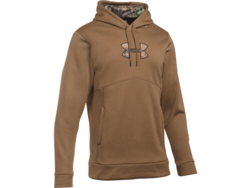 Under Armour Icon Hoodie Poly Brown 1279836
