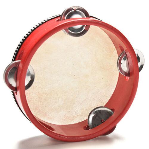 Rot Kinder Geschenk Instrument Schellentrommel Tambourin Für Musik Lernen