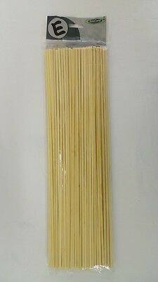 """16"""" (400mm) x 4.5mm bamboo Skewers Twister Fries Chipstick 500 pieces BLUNT END"""