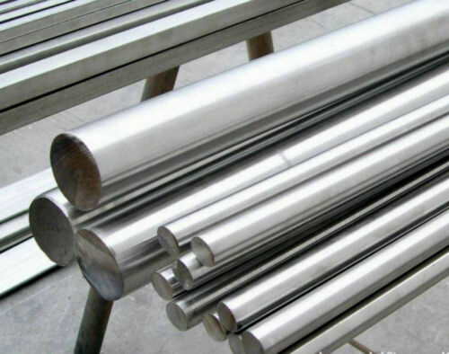 """20/"""" each length 500mm 2x 316L Stainless Steel Solid Rods Bar Diameter 5mm"""