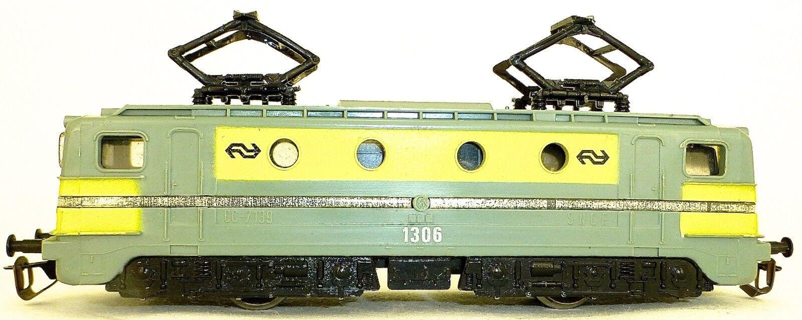 Bttb NS Locomotiva Elettrica 1306 Grigio Giallo Zweiachsig Tt Start Tt 1:120 Å