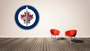 Details About Winnipeg Jets Nhl Wall Decal Home Decor Vinyl Sticker