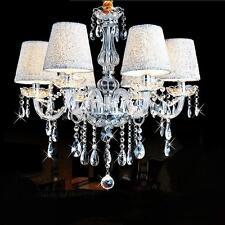 Fashion Modern Crystal Ceiling Lighting Chandelier 6 Light Lamp Pendant Fixture