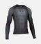 Under-Armour-UA-Charged-Compression-Shirt-Black-Grey-1267641-040-2XL-Fitness-L-S thumbnail 1