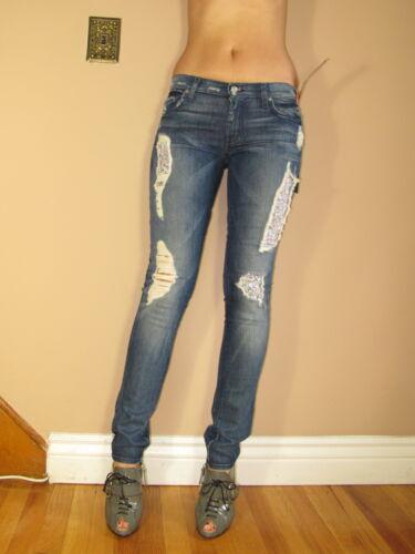Adara 25 Délavé Sept Jeans All For 24 Liberté Mankind 7 Moulant Roxanne w8ZwzPFxq