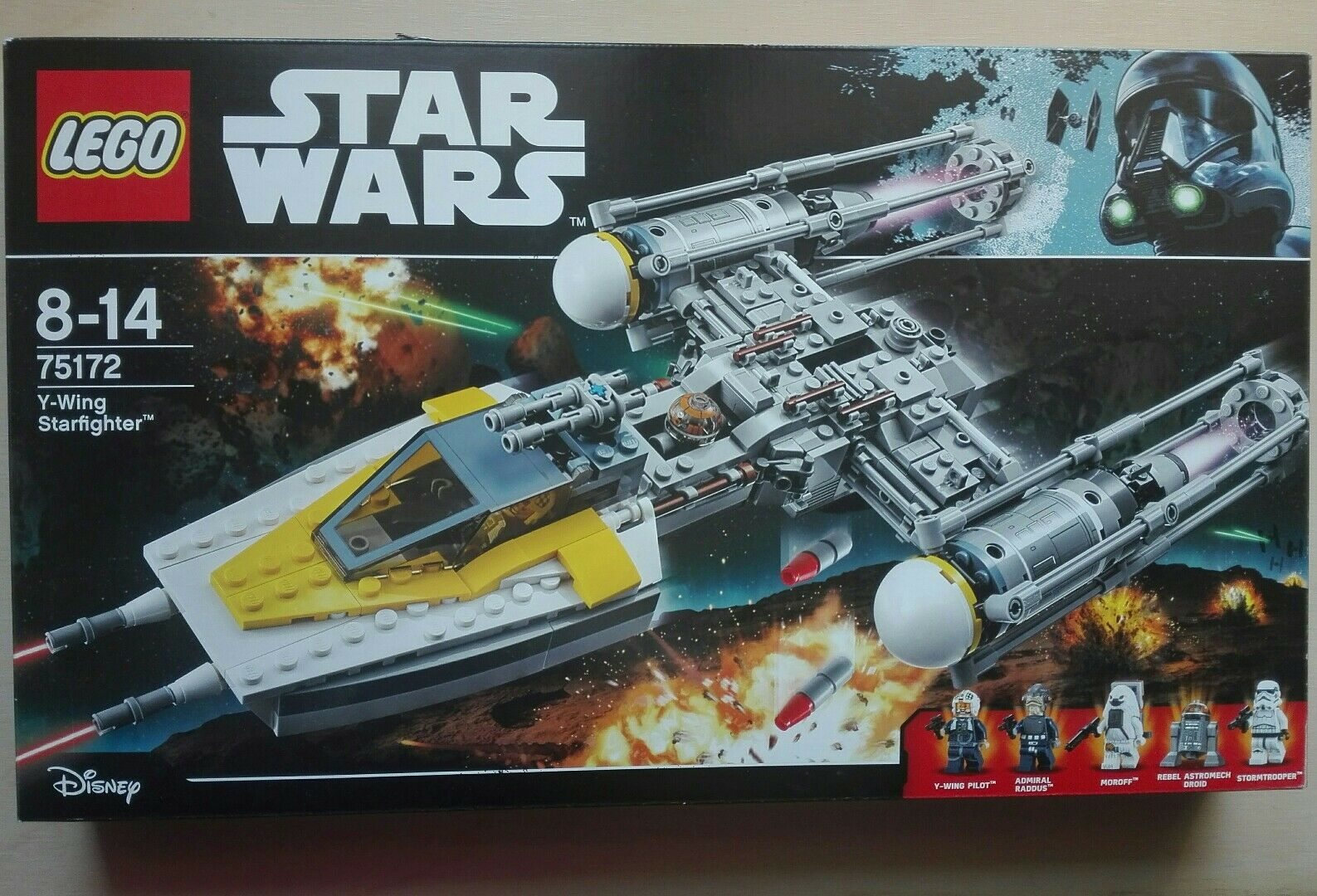 LEGO STAR WARS 75172 Y-WING STARFIGHTER       NUOVO 74f0df