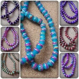 50-x-Transparent-Drawbench-Glass-Beads-Round-6mm-Various-Colours-Available
