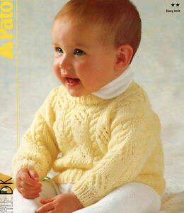 f1a3a1f001b Cute Little Cable   Eyelet Baby Sweater 16