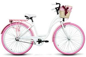 goetze 28 zoll colours damenfahrrad citybike retro damenrad rosa ebay. Black Bedroom Furniture Sets. Home Design Ideas