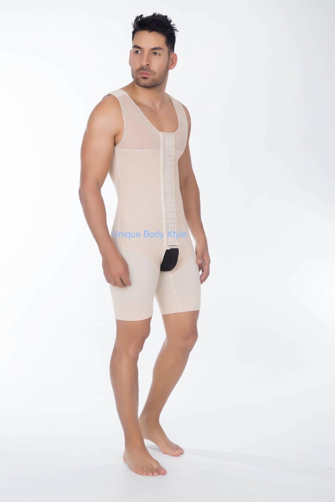 FAJA COLOMBIA Full Body Hombre Men's Slimming Reducer SIZE ORIGINAL COLOMBIA