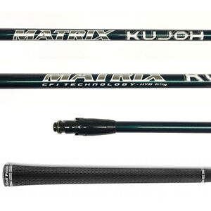New-Matrix-Kujoh-65-Hybrid-Shaft-Stiff-Flex-W-Titleist-Adapter-816-915-913