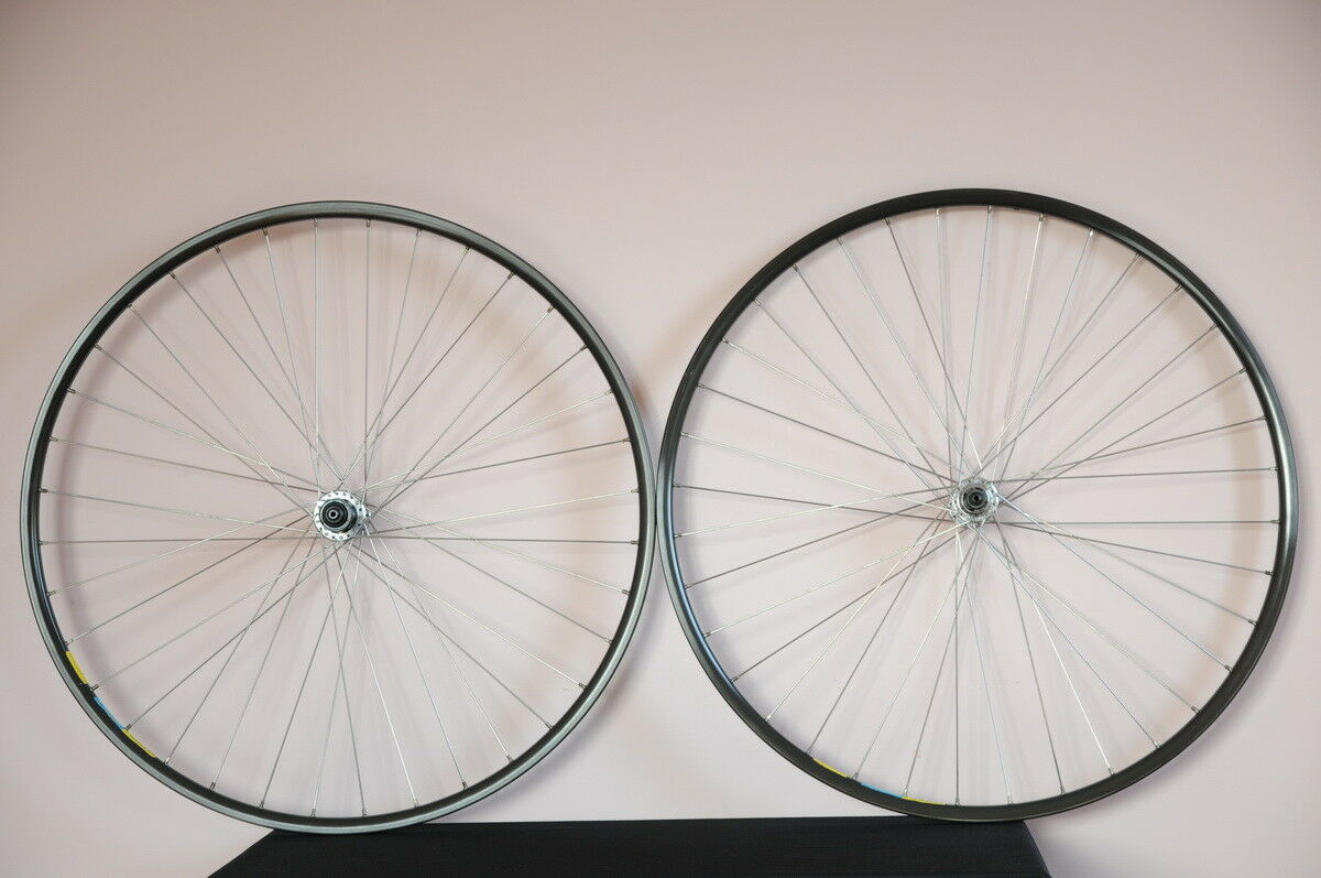 Mavic OPEN 4 CD, DT SWISS, Shimano DURA ACE,  wheelset 700C, wheels, VGC