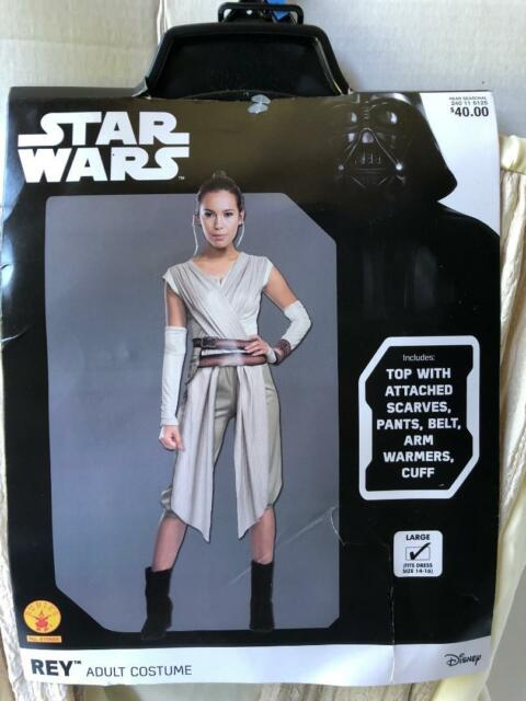 Star Wars The Force Awakens Adult Deluxe Rey Costume